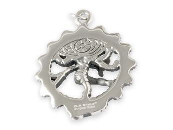 Stainless Steel Pendant - Dancing Shiva – picture 2