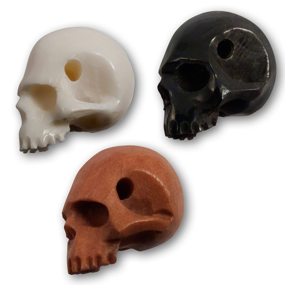 Carving Skull Beads From Horn Bone Or Wood Ceres Webshop
