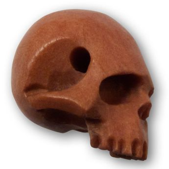 Carving Skull Beads from Horn, Bone or Wood – picture 4