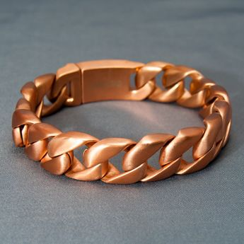Curb Chain Bracelet in different lengths and widths – picture 6