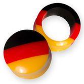 Fußball Flesh Tunnels & Plugs Deutschland (4-30mm) pg157 001