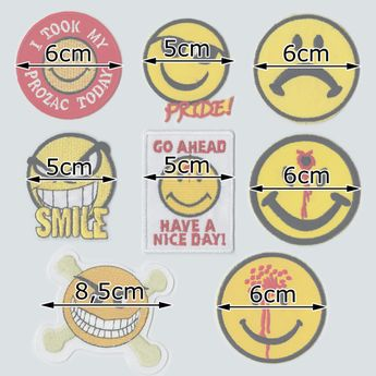 Parches con Diferentes Motivos / Smileys – picture 3