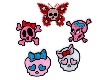Patches Girlie Skulls – picture 1