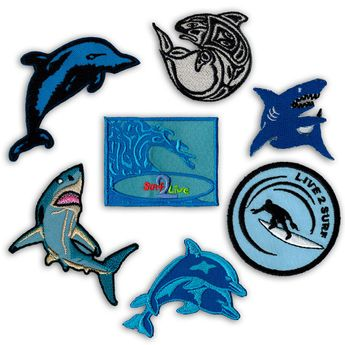 Different Motives Patches / Patches for Surfers – picture 1