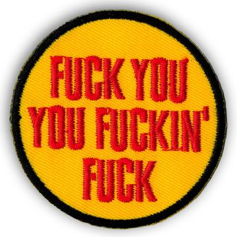"Different Motives Patches / Patches ""Fuck You"" – picture 7"