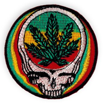 Various Patches with Hemp Leaf – picture 4