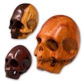 Totenkopf Perle wahlweise aus verschiedenen Edelhölzern