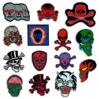 Patch - Skulls – picture 1
