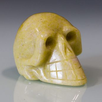 Carved Skulls from semiprecious stones – picture 4