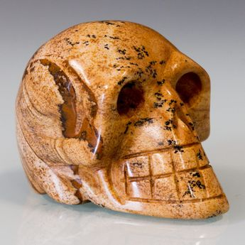 Carved Skulls from semiprecious stones – picture 9