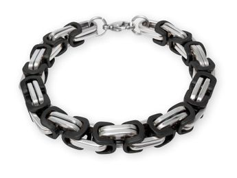 9 mm Stainless Steel Byzantine King Chain | Men's Necklace Women's Bracelet | 19-100 cm – picture 3