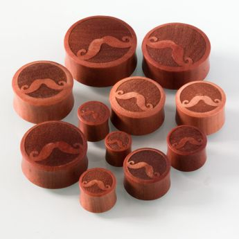 Wood Ear plugs with Laser Engraving (various models) – picture 9