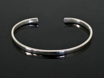 Stilvolle 925 Silber Armspangen -  4 Modelle – Bild 2