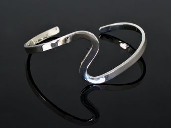 Stylish 925 Silver Bangles (4 Models) – picture 4