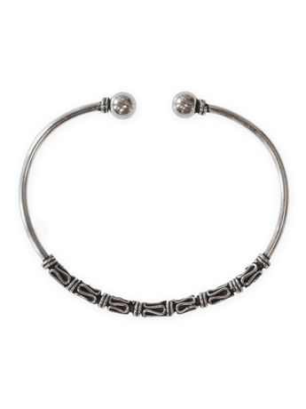 Viking 925 Silver Bangle Model Birka – picture 2