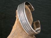 Celtic Bangle 925 Silver Bracelet  Model Gawain