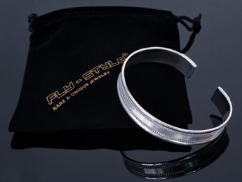 Classic 925 Sterling Silver Bangle Modell Gwen – picture 2