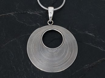 925 Sterling Silver Pendant for Women - Bali Jewelry – picture 2