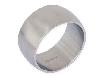 Stainless steel ring 8-12 mm wide, matt or polished – picture 7