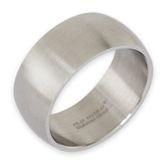 Bandring Edelstahl 8-12 mm breit, matt oder poliert 001