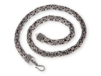 Byzantine Chain 925 Sterling Silver Necklace Bracelet 3.2 -10 mm | 18-74 cm – picture 5