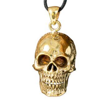 Brass Pendant Skull – picture 1