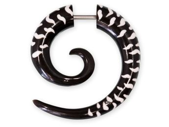 Horn Fake Spiral - White Tiger – picture 1