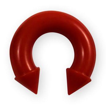 Silikon Ohr Piercing Expander Farb-& Größenauswahl – Bild 3
