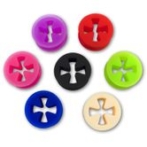 "SILICON TUNNEL ""IRON CROSS"" IN DIFFERENT COLORS"