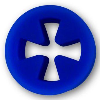 Softe Silikon Flesh Tunnel Eisernes Kreuz Farb-& Größenauswahl – Bild 8