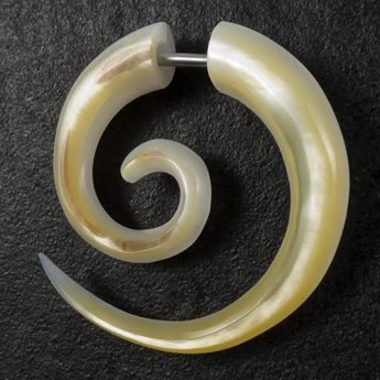Fake Spiral Taper - Mother of Pearl – picture 1