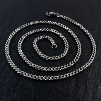 Filigree Armor Chain Necklace made from Stainless Steel  – picture 2