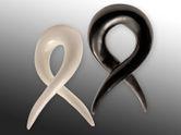 Dilatación Piercing Espiral  - Tornado - de Cuerno o Hueso