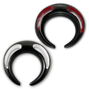 Dilatación Piercing Garra de Cuerno - Rojo o Blanco – picture 1