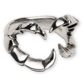 Silver Ring - Dragon Claw 001