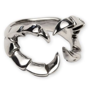 Silver Ring - Dragon Claw – picture 1
