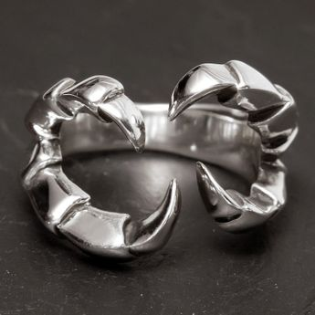 Silver Ring - Dragon Claw – picture 3