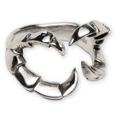 Silberring - Drachen-Klaue 001