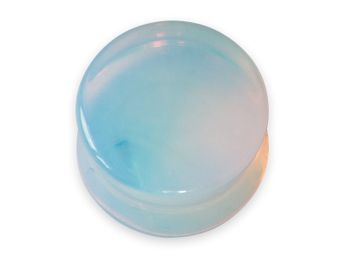Opalite Stone Ear Plugs Moonstone / Opal optics – picture 1