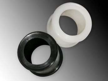 Silicone Tunnel in black or white – picture 1