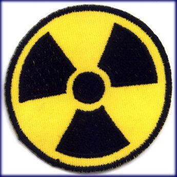 "Patch ""Radioactive Symbol"""
