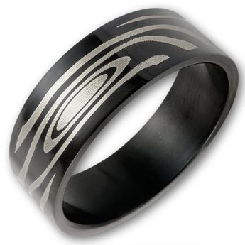 Anillo de Acero Inoxidable - Maori Tribal