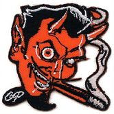 "Patch ""Smokin' Devil"" 001"