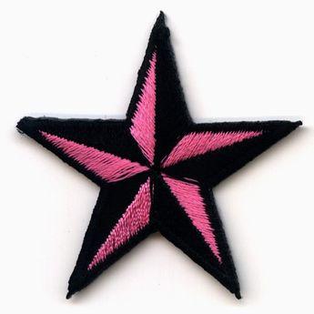 Parche - Estrella Náutica Rosa