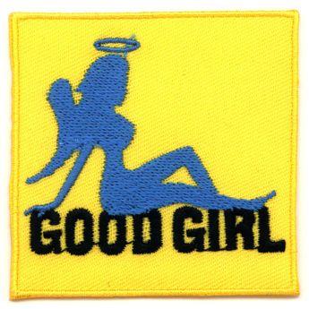 "Aufbügler / Aufnäher ""Good Girl"""