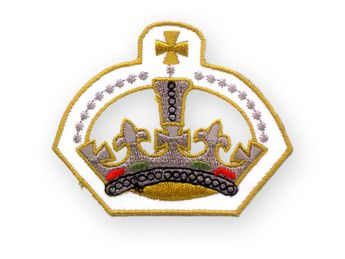 "Patch ""Royal Crown"""