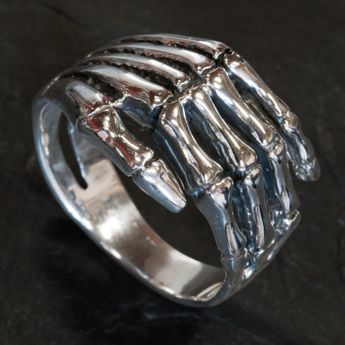 Silver Ring - Death Hand – picture 2
