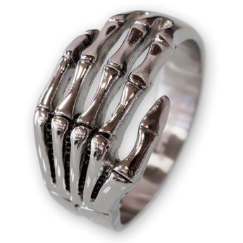 Silver Ring - Death Hand – picture 1