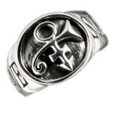 Prince Slave / Bottom Signet Silver Ring
