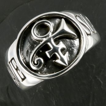 Prince Slave / Bottom Signet Silver Ring – picture 3